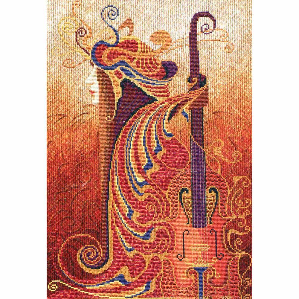 ННК3126 Набор для вышивания 'Музыка чувств. Скрипка'