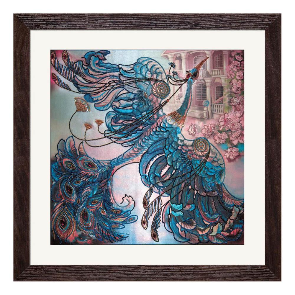 НК1013 Набор для вышивания бисером 'Нова Слобода' 'Чудо-птица', 50х50 см