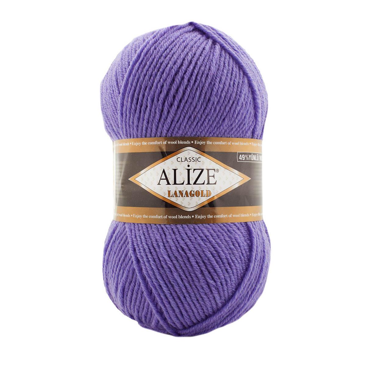Пряжа ALIZE 'Lana Gold' (50%шерсть, 50%акрил)