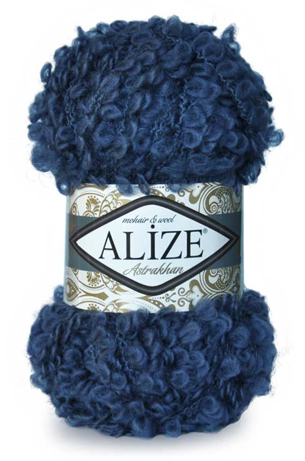 Пряжа ALIZE 'Astrakhan' (82%шерсть, 12%мохер, 6%нейлон) ТУ