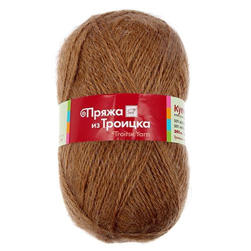 Пряжа из Троицка 'Купчиха' 100гр. 300м. (50%верб.шерсть, 50%акрил)