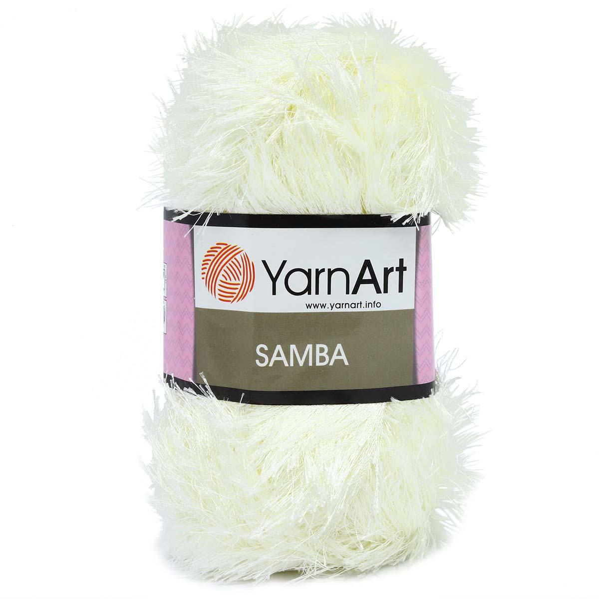 Пряжа YarnArt 'Samba' травка 100гр 150м (100% полиэстер)