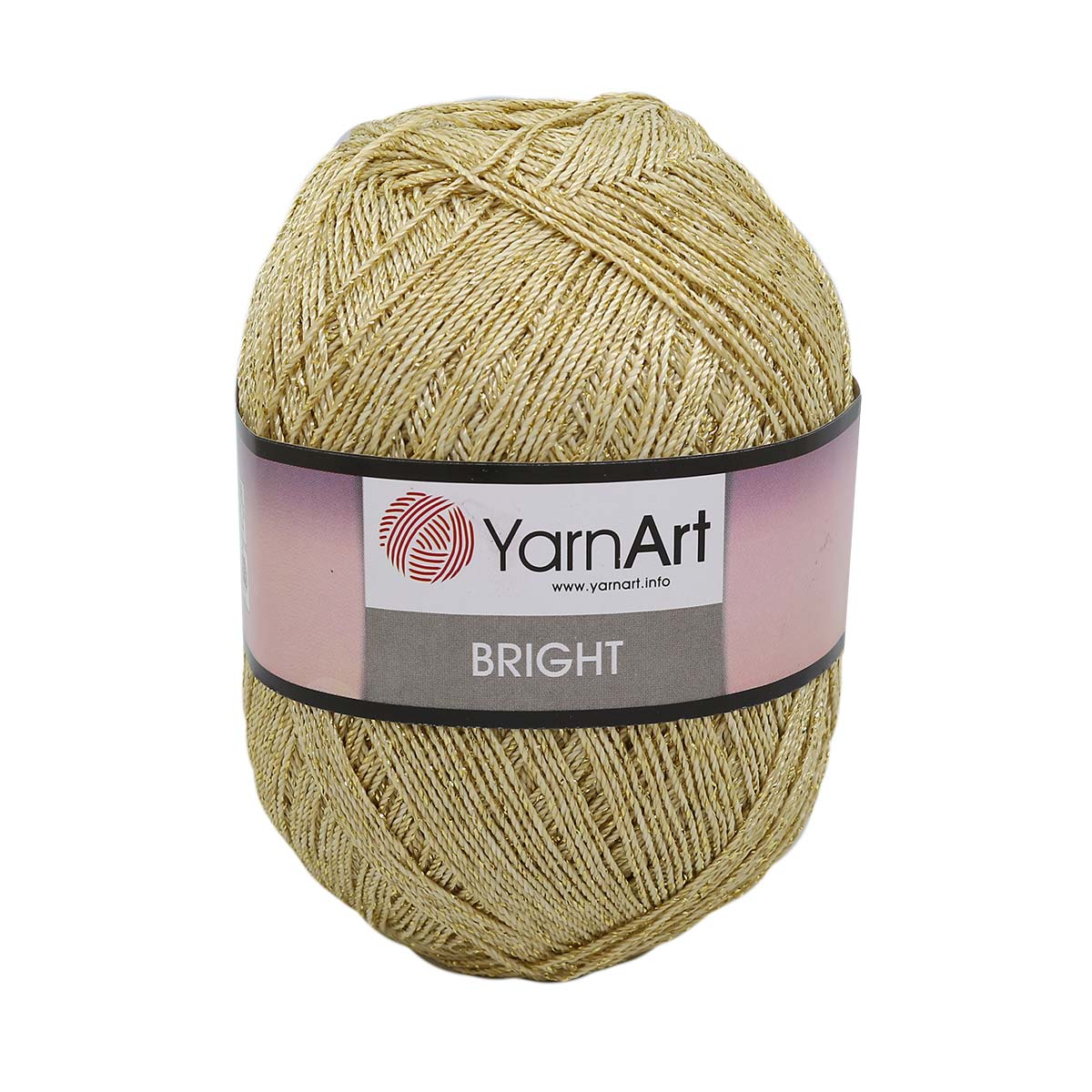 Пряжа YarnArt 'Bright' 90гр 340м (80% полиамид, 20% металлик)