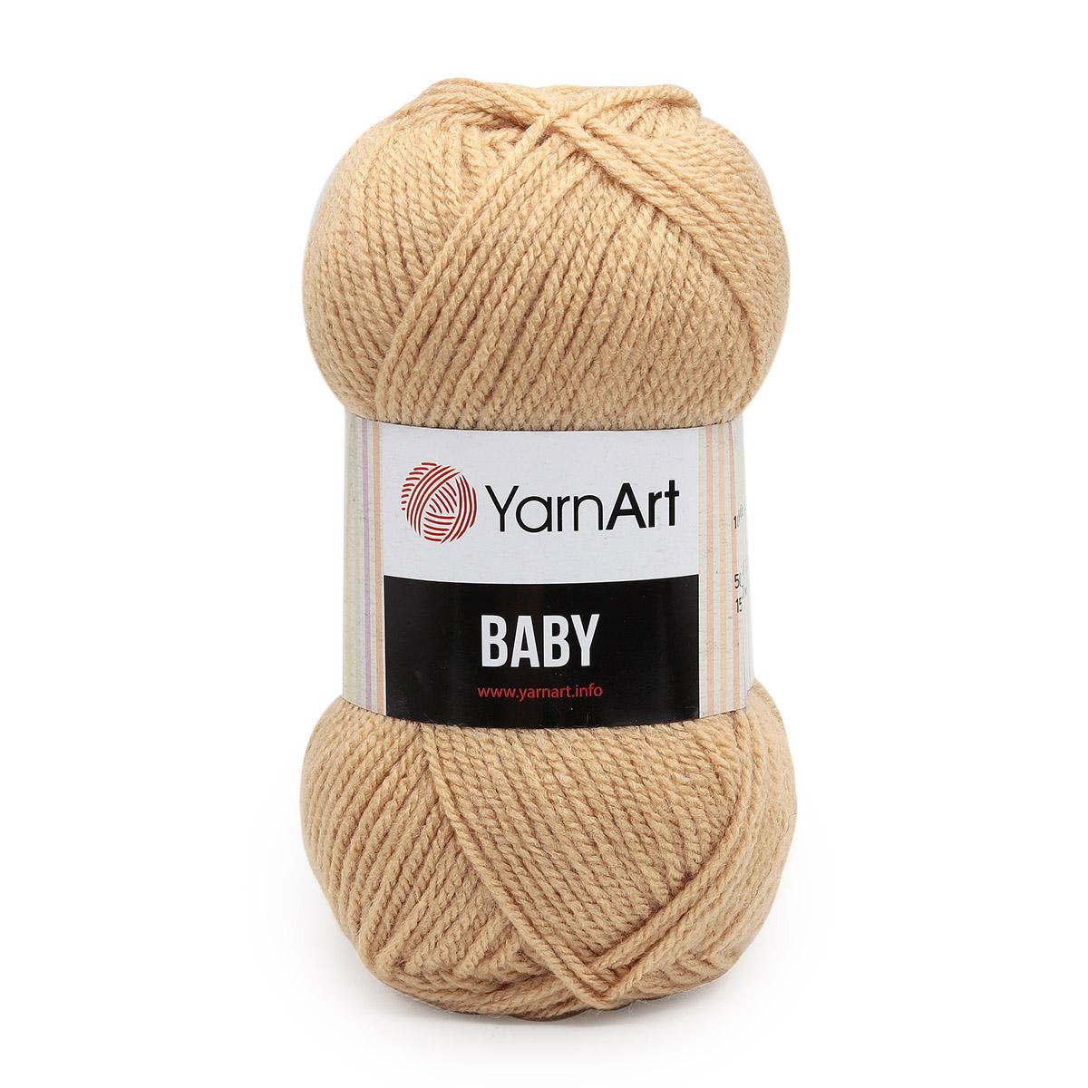 Пряжа YarnArt 'Baby' 50гр. 150м (100%акрил)