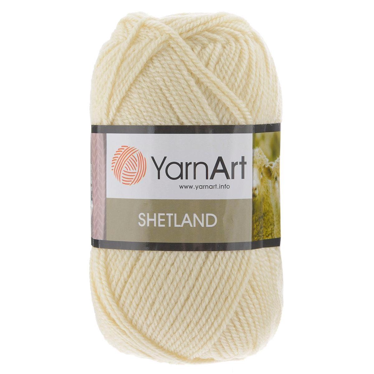 Пряжа YarnArt 'Shetland' 100гр 220м (30% шерсть, 70% акрил)