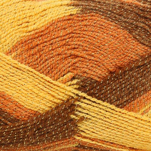 Пряжа YarnArt 'Gold Melange' 100гр. 400м (92% акрил, 8% металлик п/э) (9505) фото