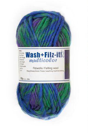 9812.943-COAT Шерсть 'Wash + Filtz-it' , 50гр. мультиколор