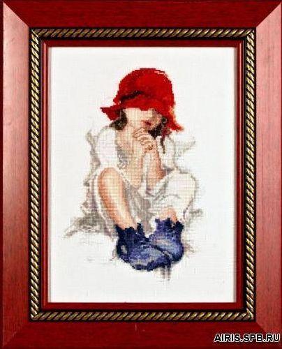 1001 Набор для вышивания Alisena 'Красная шапочка' 15*23см