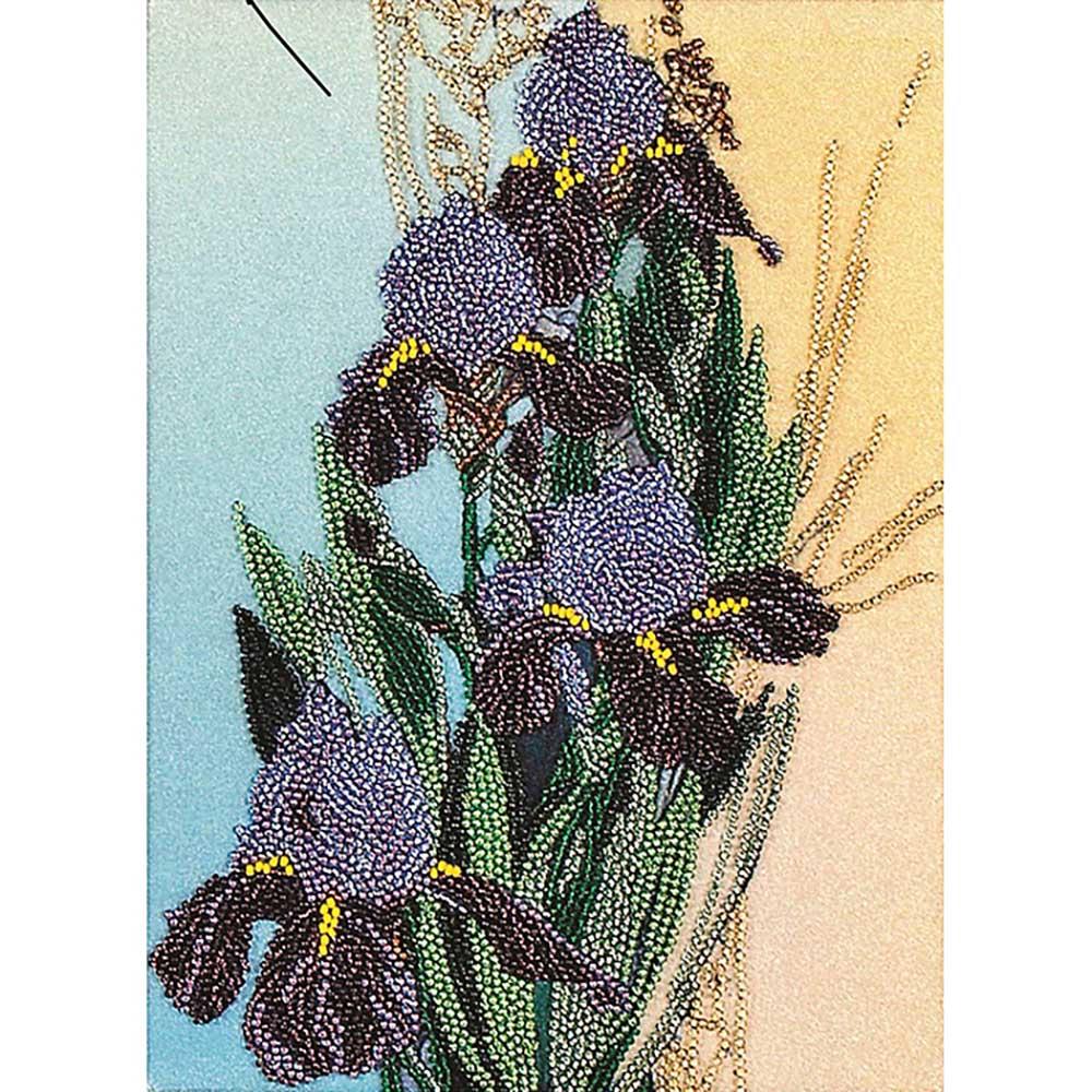 ВН1027 Набор для вышивания Alisena 'Ирисы', 18*25 см
