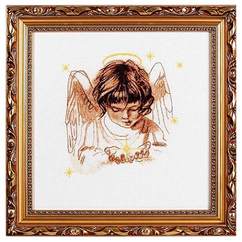 1052 Набор для вышивания Alisena 'Звездочка в ладошках', 22*22 см