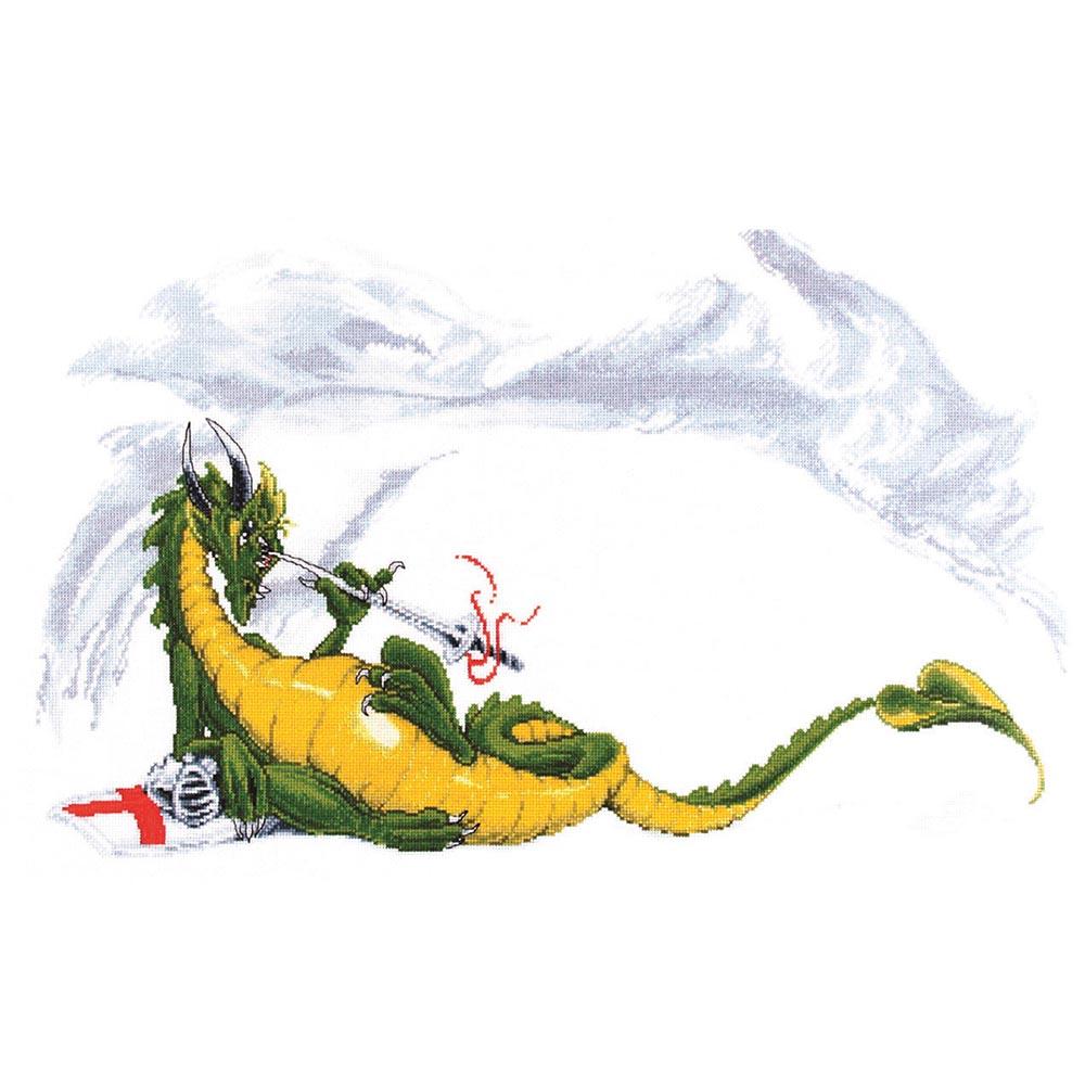 1051 Набор для вышивания Alisena 'Дракон', 50*30 см