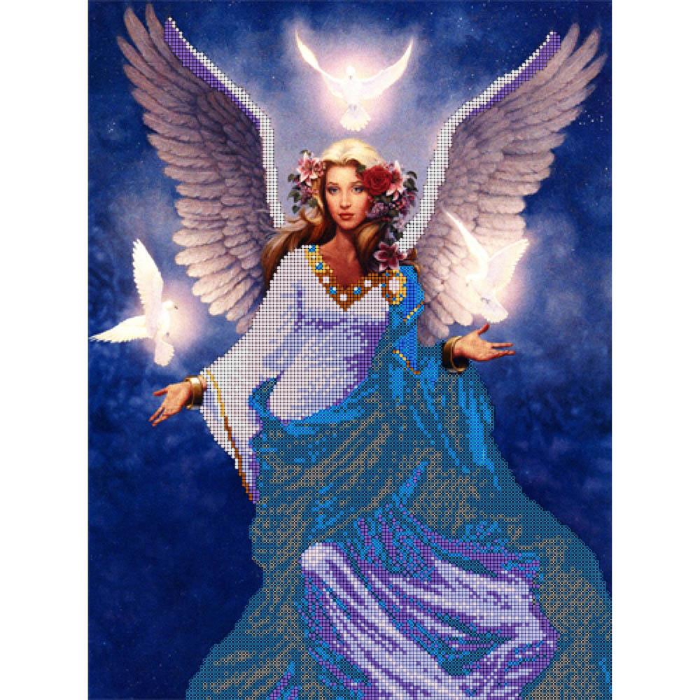 52014 Набор для вышивания бисером Astrea 'Небесный ангел', 30х40 см
