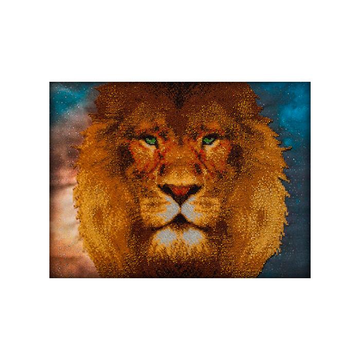 53016 Набор для вышивания бисером Astrea 'Царь зверей', 40х30 см