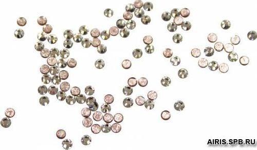 Камни плоские с клеем 2038/E SS 6 (1) кристалл прозр. 50шт. Swarovski