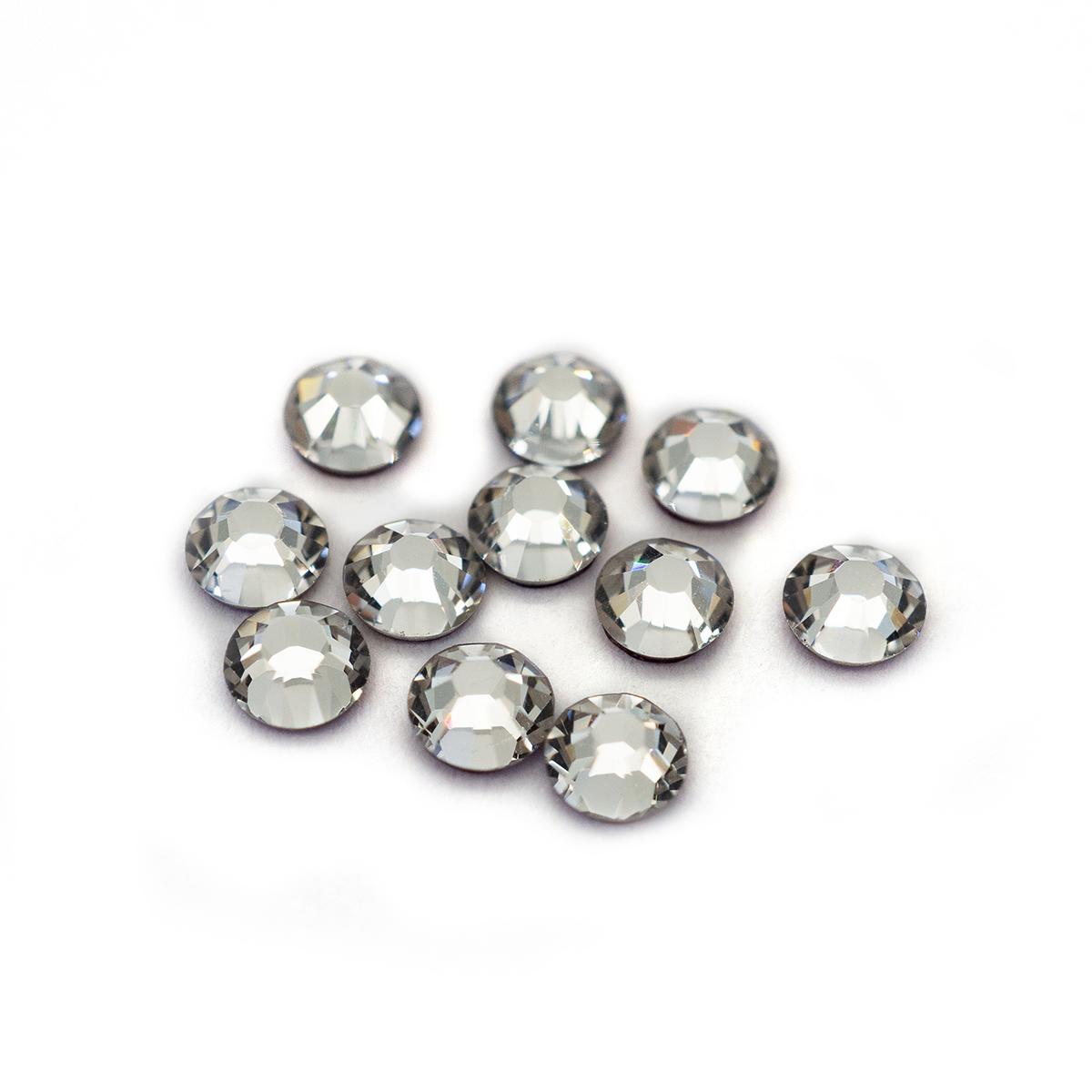 Камни плоские с клеем 2038/E SS 10 (1) кристалл прозр. 50шт. Swarovski