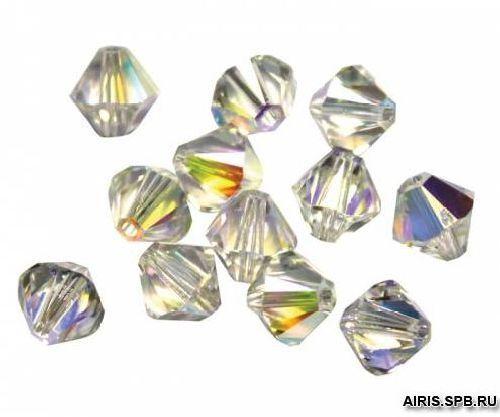 5328/E Бусины (кристалл) с эффектом, 8 мм, упак./20 шт., Swarovski