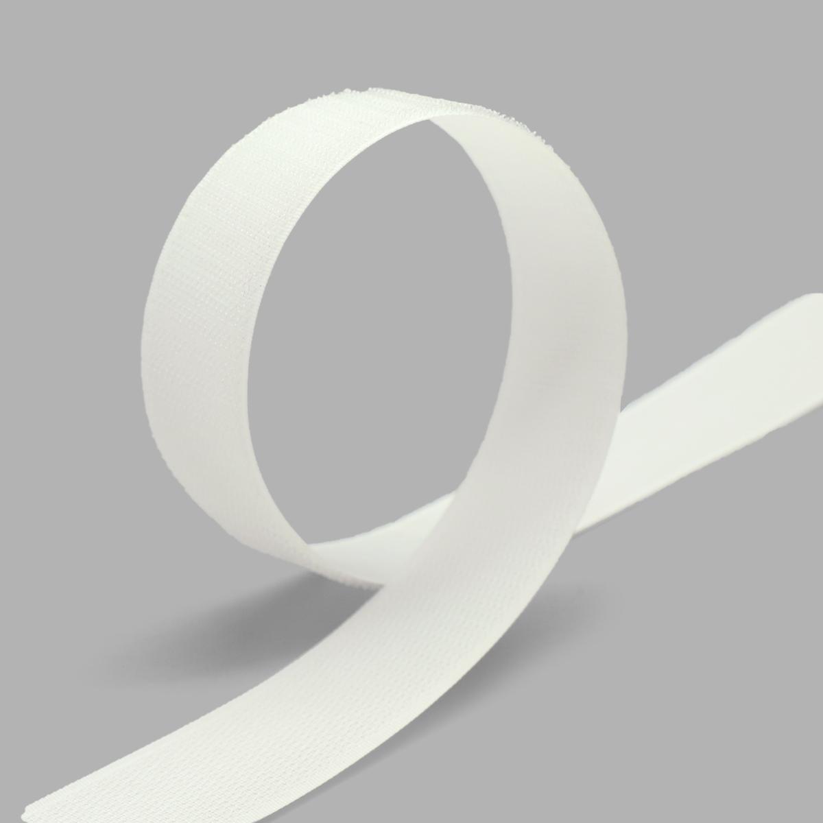 20203 Лента контактная 30мм. 25 м 'крючок' (бел.) фото
