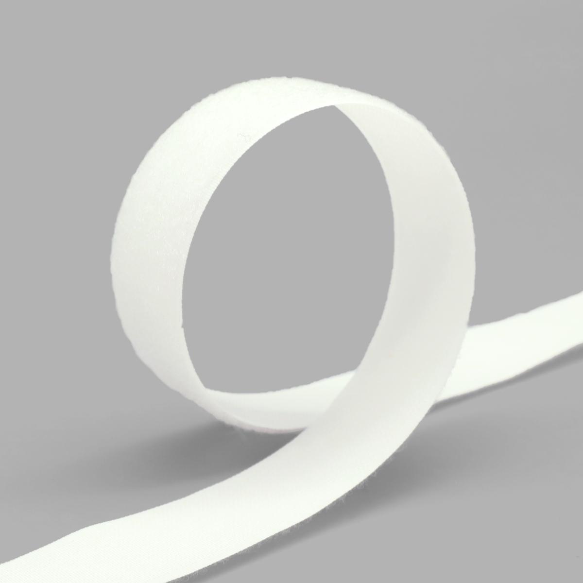 20204 Лента контактная 30мм. 25м 'петля' (бел.) фото
