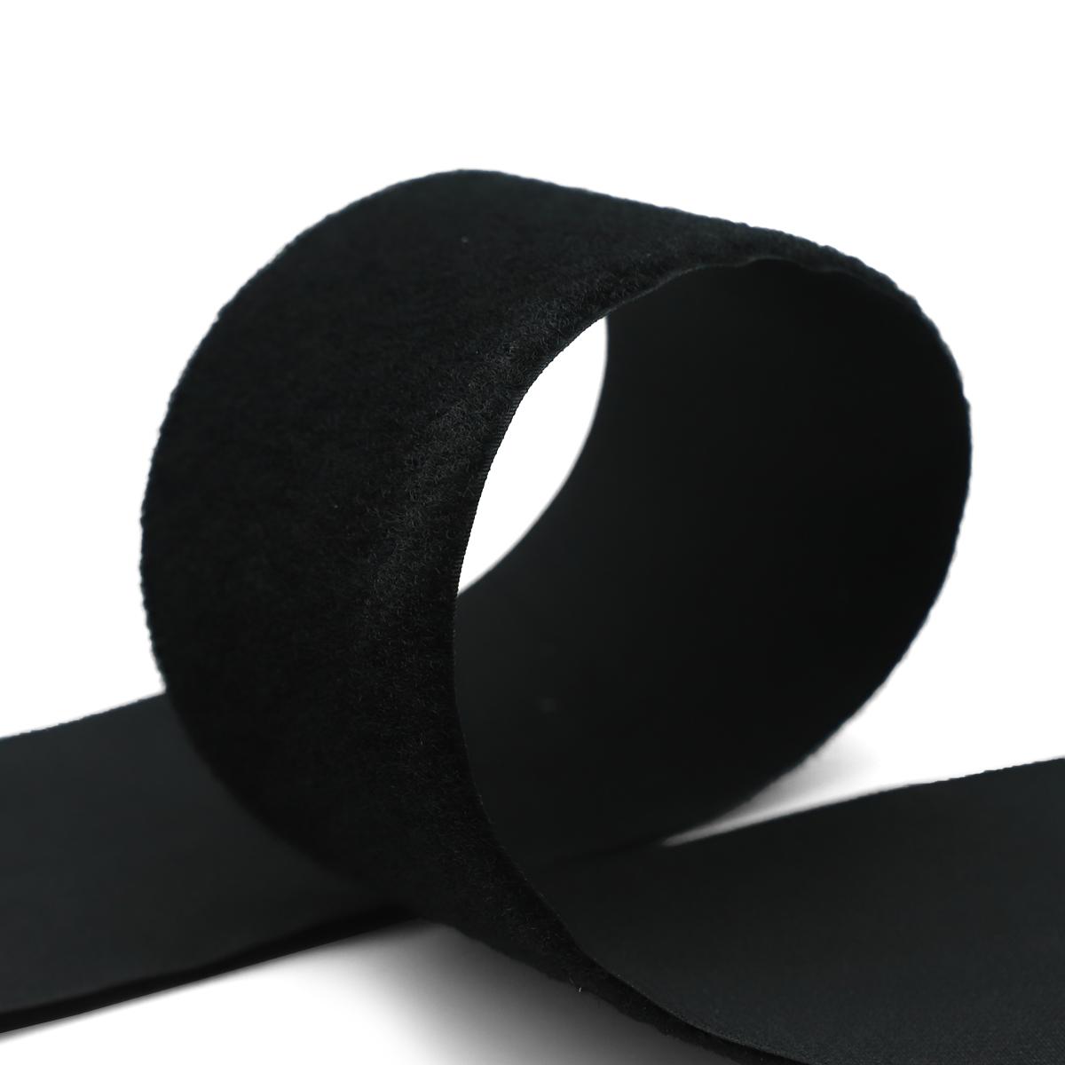 20502 Лента контактная 100мм 25м 'петля' (черн.)