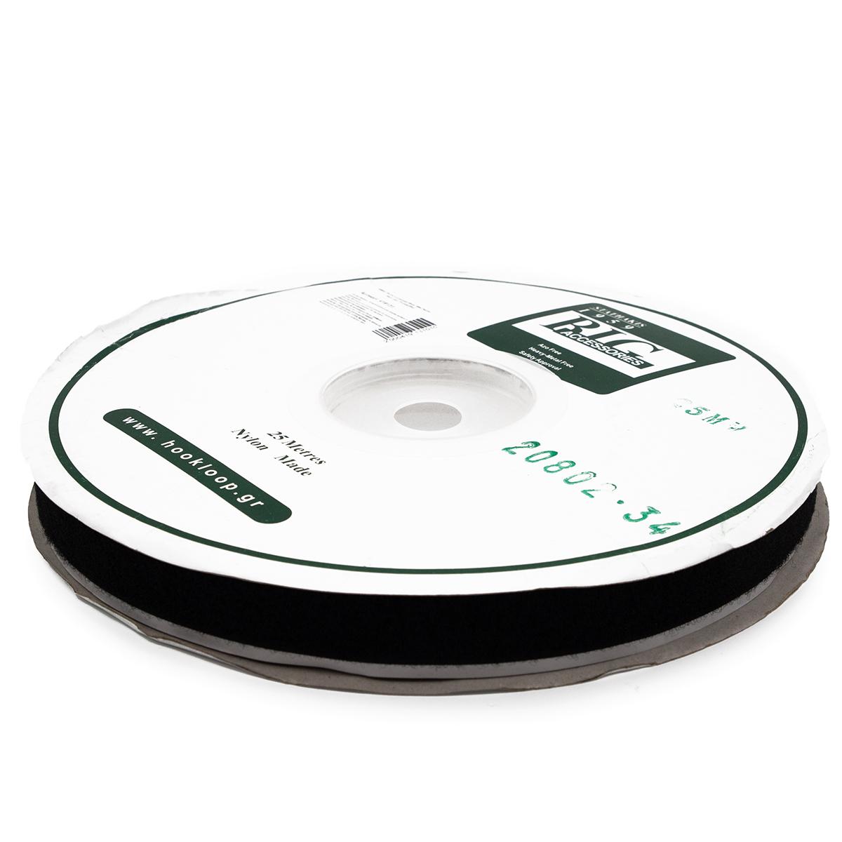 20802 Лента контактная 25мм *25м 'петля' черн.скл.
