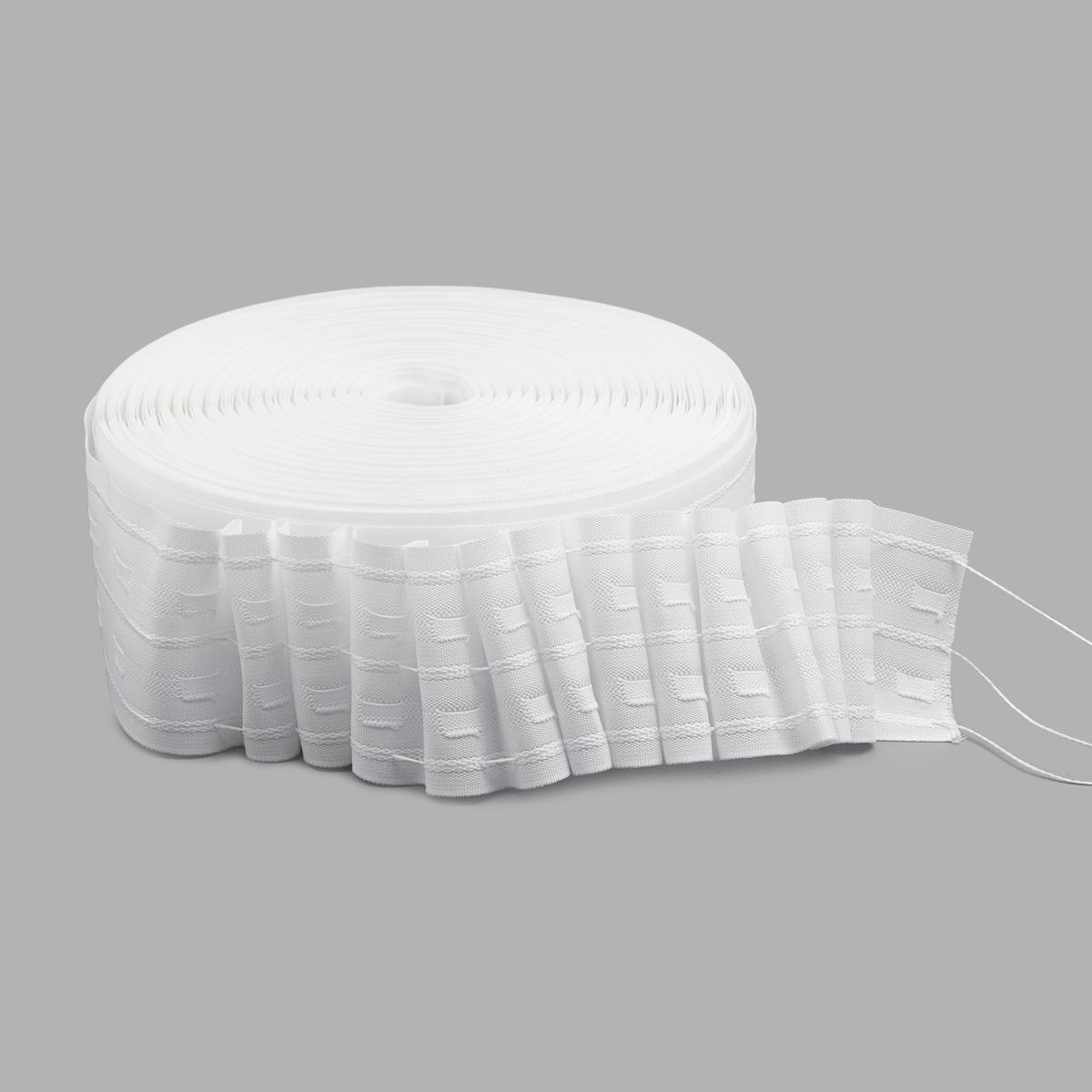 Лента шторная 6,8см 1/2,5 равномерная С3180
