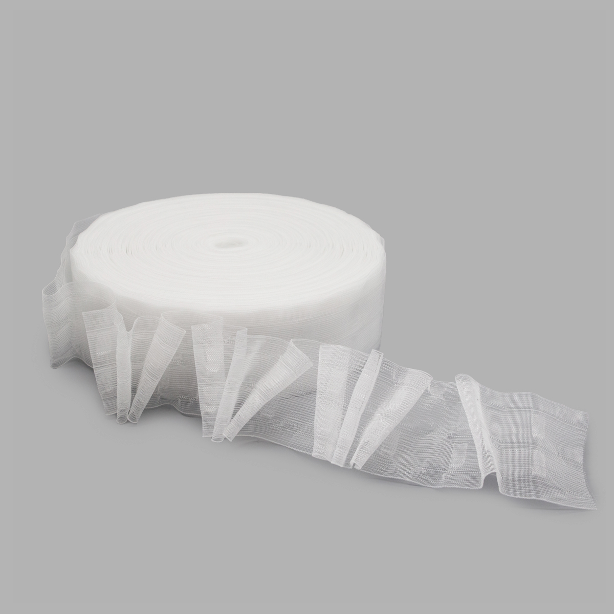 6125-KD Тесьма шторная 6см*100м (ГР)