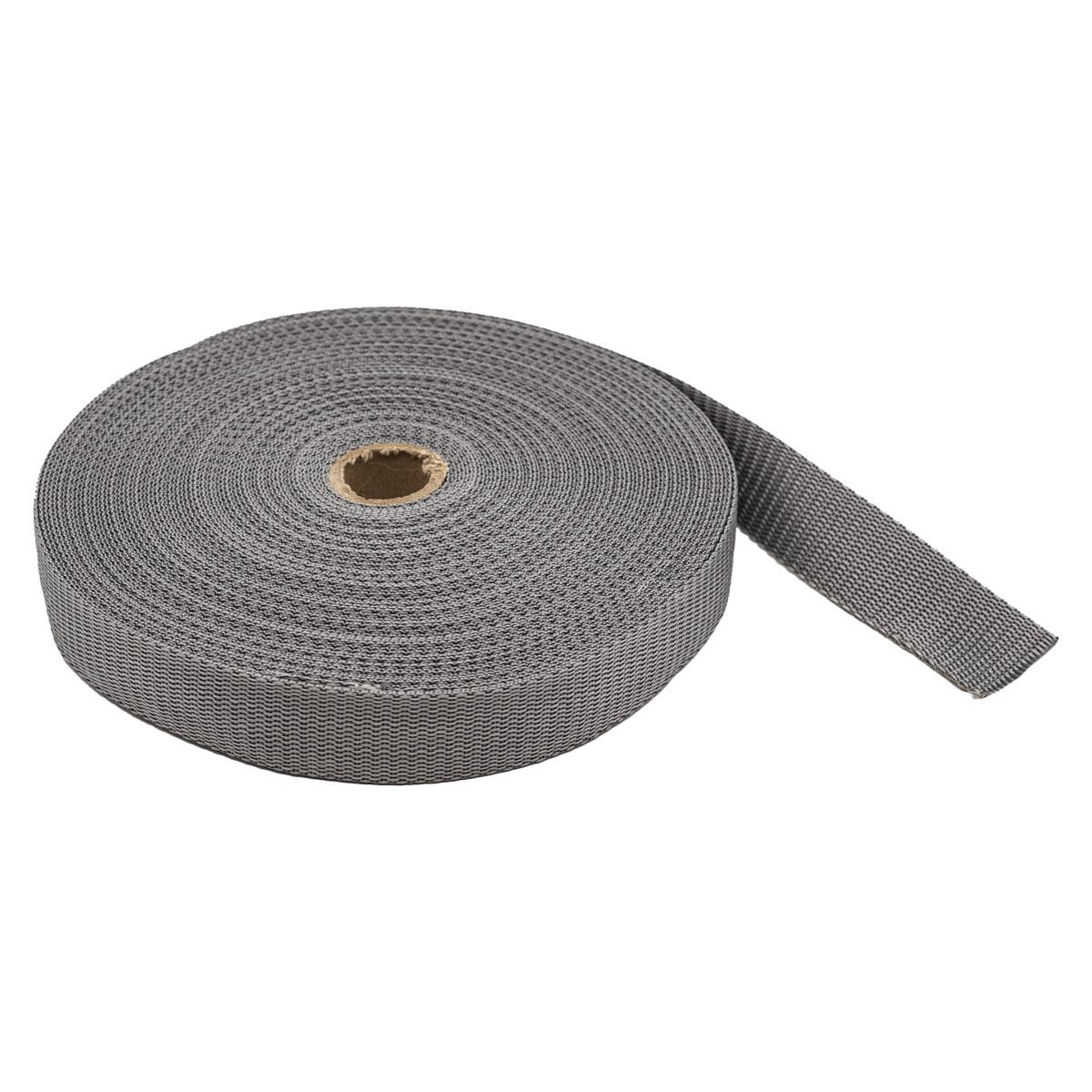 С3075 Лента ременная (стропа), черный, 3 см*25 м