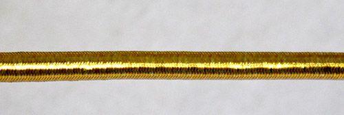 Резинка шляпная с люрексом 3,0мм.*98м. (МС)