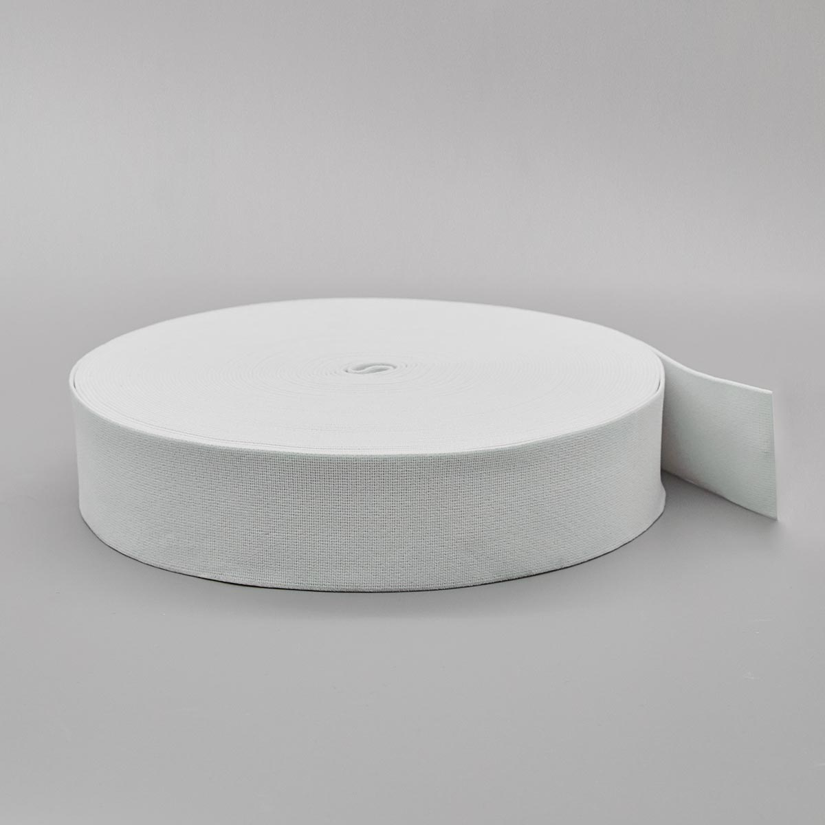 5050Б Резинка башмачная 50мм*25м, белая