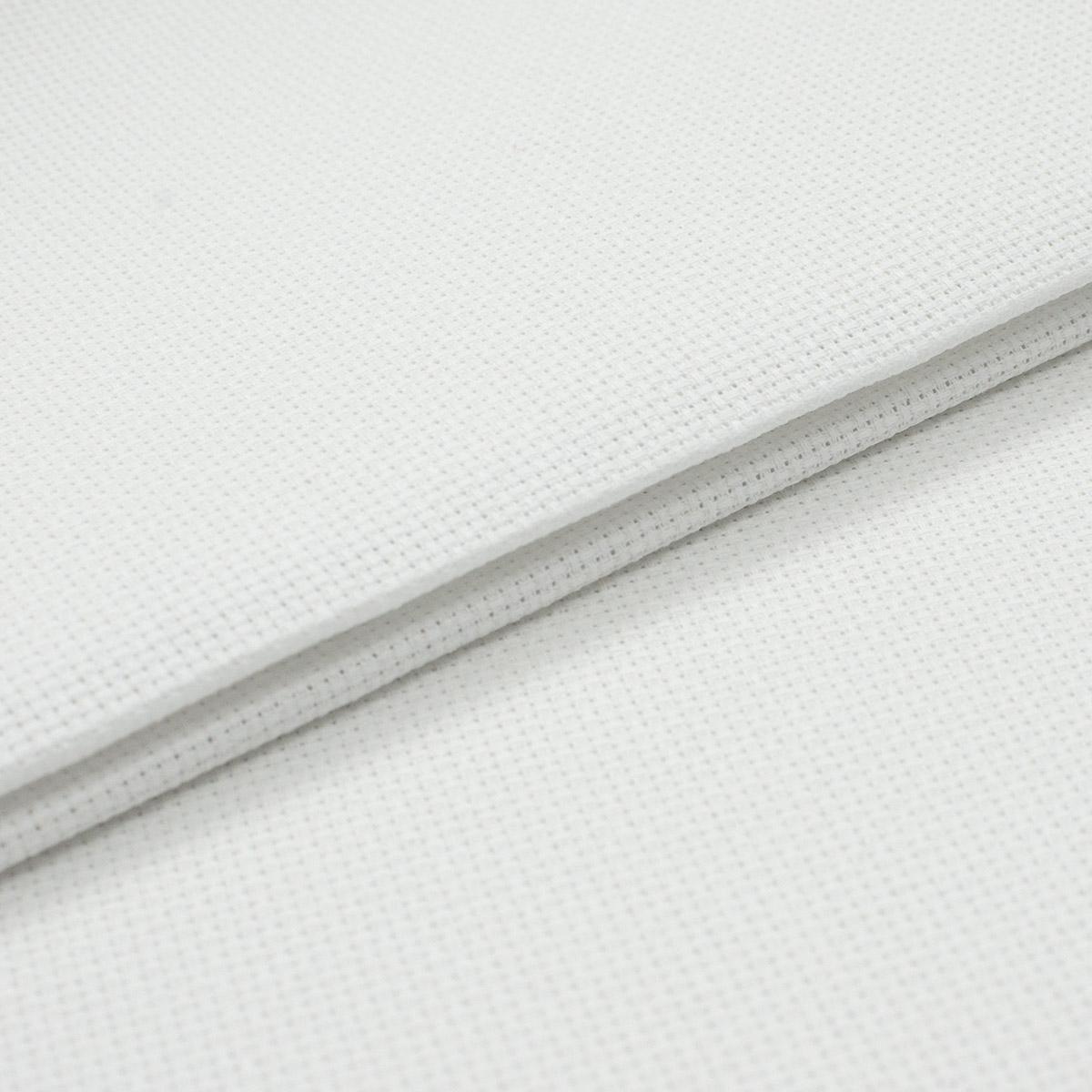 851 (955) Канва белая, мелкая, 60кл*10см, 500*150см (Беларусь)