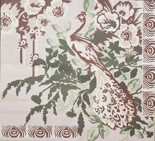 MRG16-206 Канва с рисунком MARGOT 70х75см
