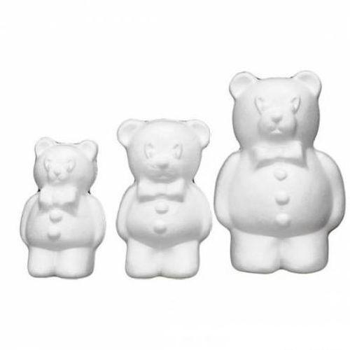 Заготовка для декорирования из пенопласта 'Медведь мал.', h 18см