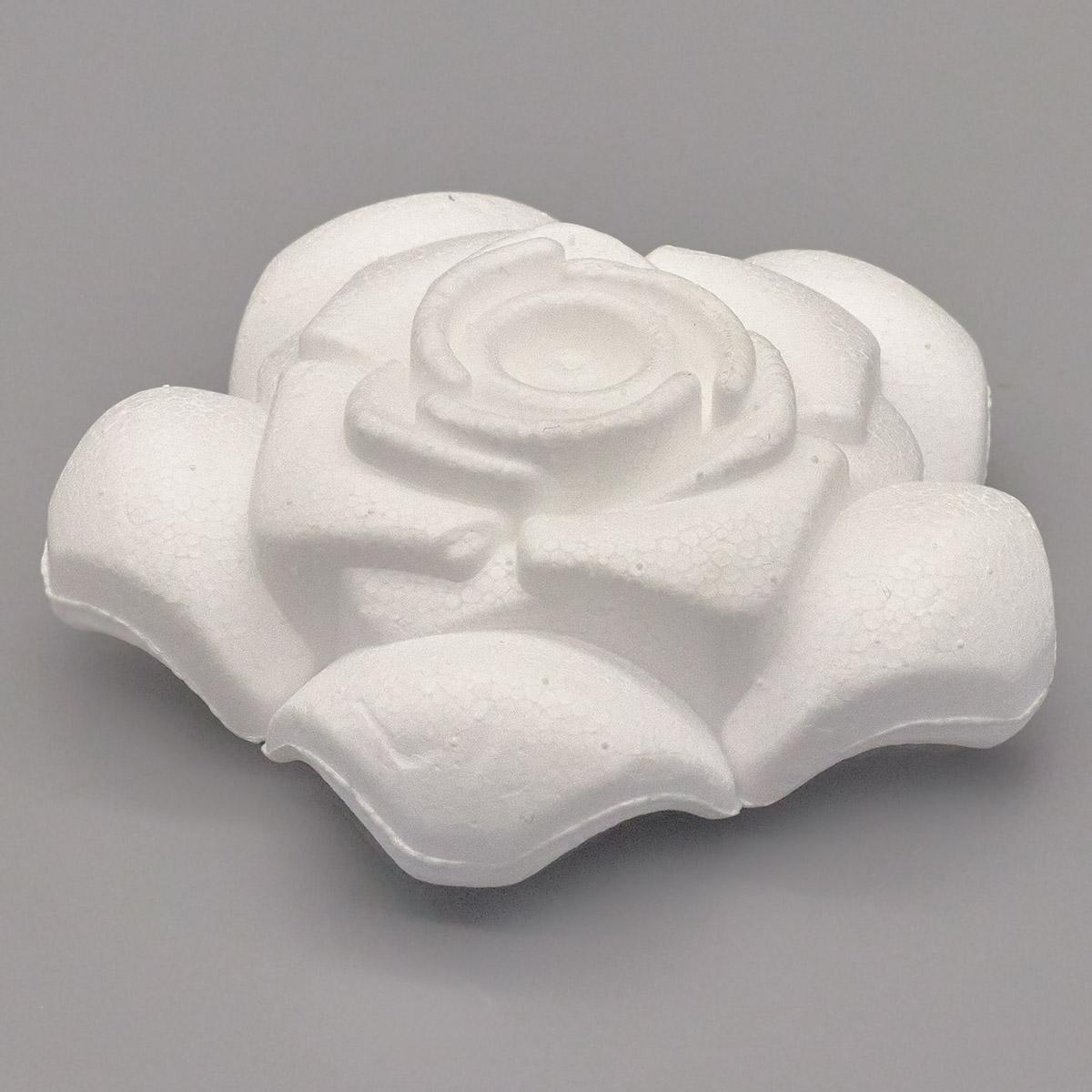 Заготовка для декорирования из пенопласта 'Роза'