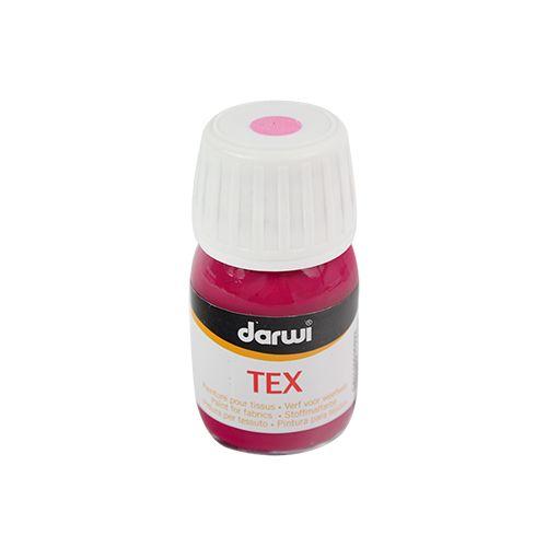 DA0100030 Акриловая краска по ткани Tex, 30 мл, Darwi