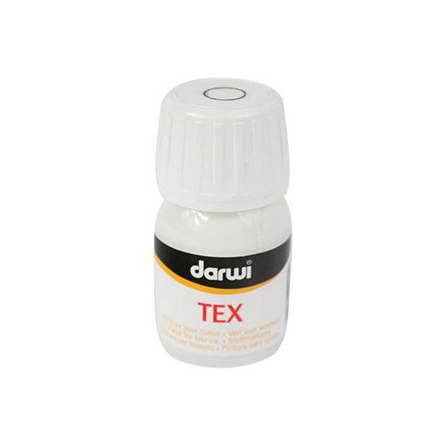 DA0100030007 Состав для повышения укрывистости акриловой краски Tex, для ткани, 30 мл, Darwi