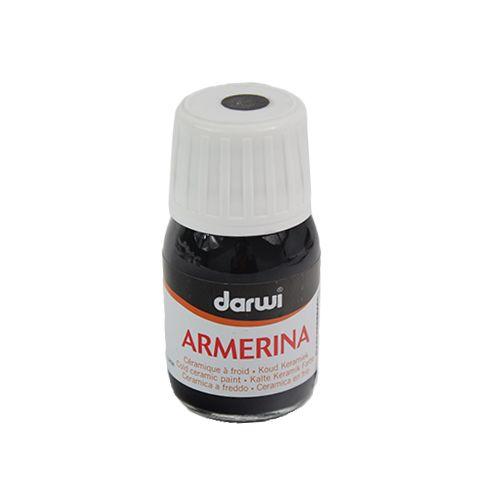DA0380030 Акриловая краска Armerina, для керамики, 30 мл, Darwi (100 черный) фото