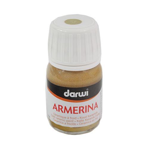 DA0380030 Акриловая краска Armerina, металлизированная, для керамики, 30 мл, Darwi