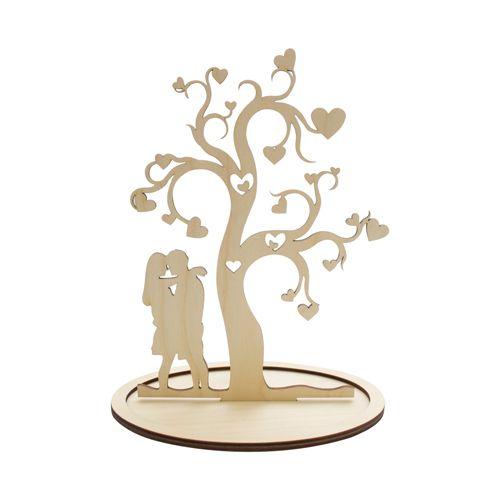 L-394 Деревянная заготовка дерево влюбленных, 19*28 см, 'Астра'