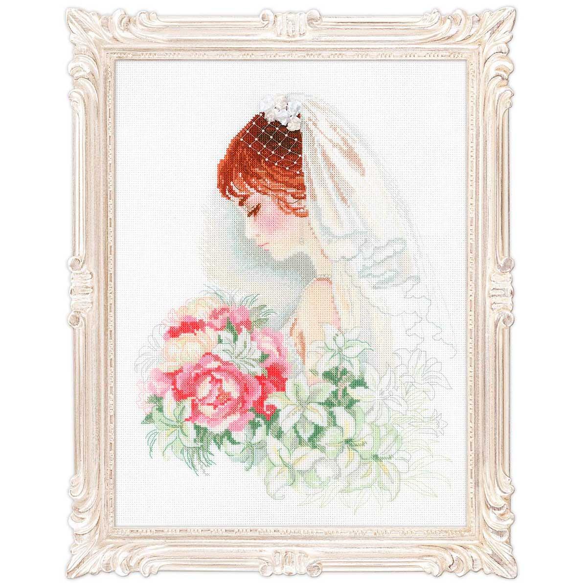 100/050 Набор для вышивания Riolis' 'Невеста', 30*40 см
