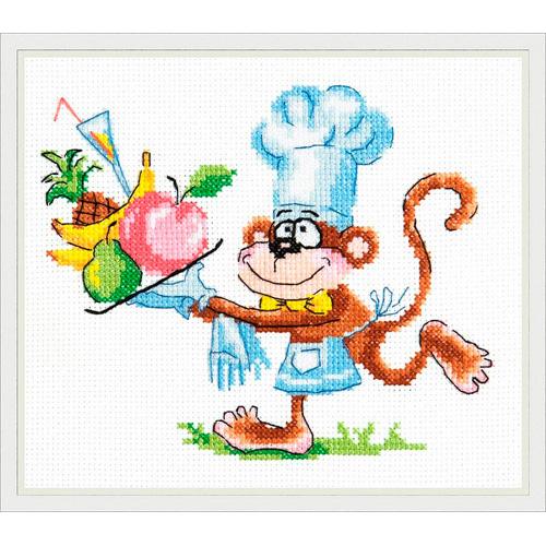 19-03 Набор для вышивания 'Чудесная игла' 'От нашего стола!', 16*13 см