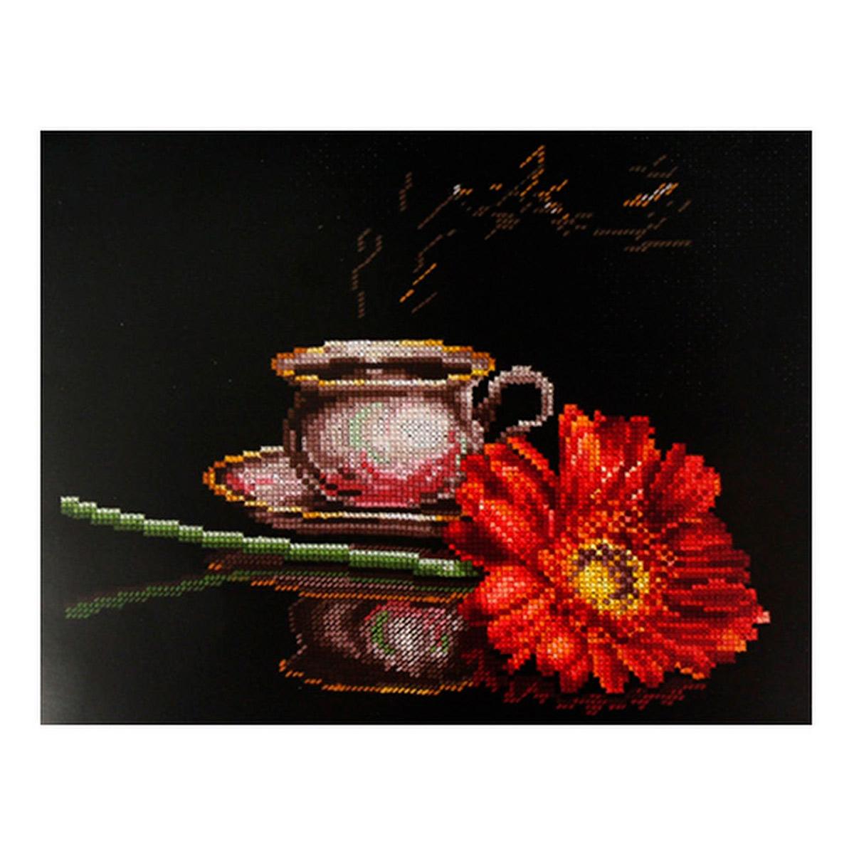 К-26 Набор для вышивания ''Кофе для неё', 27*22 см