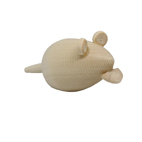 Деревянная заготовка Фигурки животных Мышь
