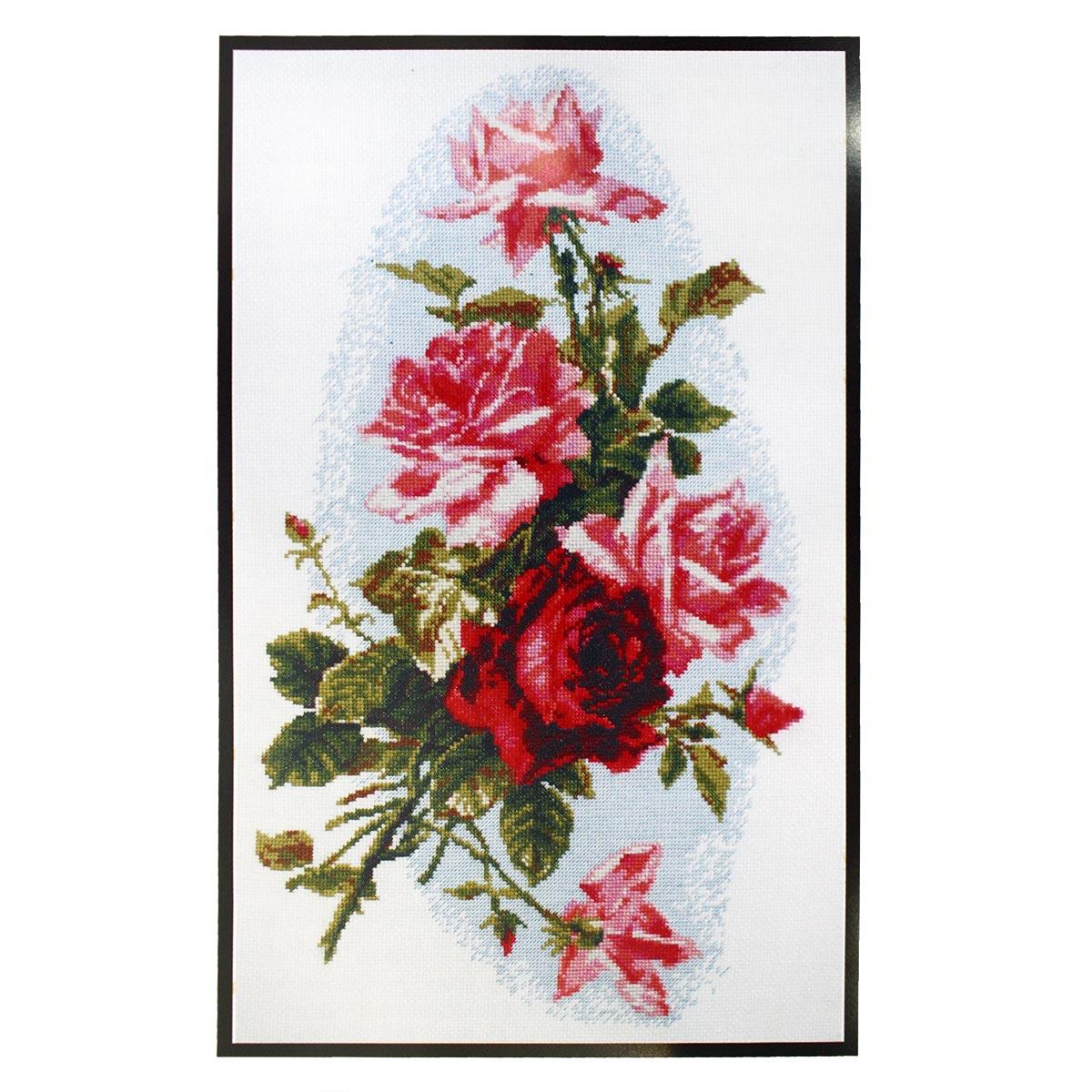 01.012 Набор для вышивания 'Палитра' 'Розовый шик', 24х41 см
