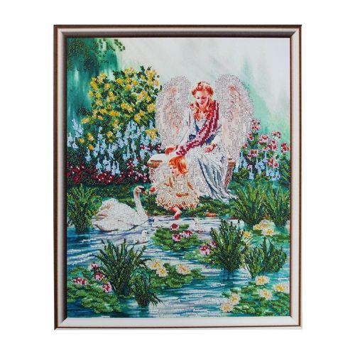 62004 Набор для вышивания бисером Astrea 'В тишине сада', 30х40 см