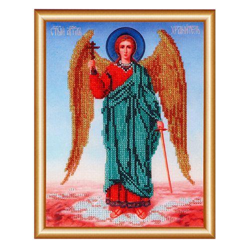 БН-4001 Набор для вышивания бисером Hobby&Pro 'Ангел Хранитель', 19*25 см