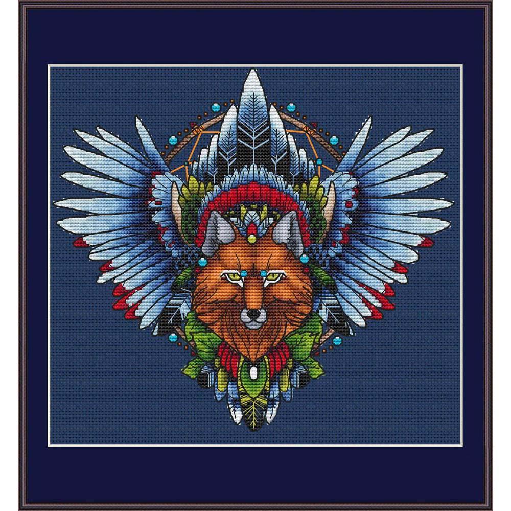 402 Набор для вышивания Astrea 'Ловец снов-Лис1' 23х21 см