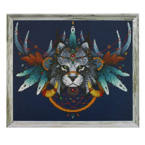 407 Набор для вышивания Astrea 'Ловец снов-Рысь' 30х26 см