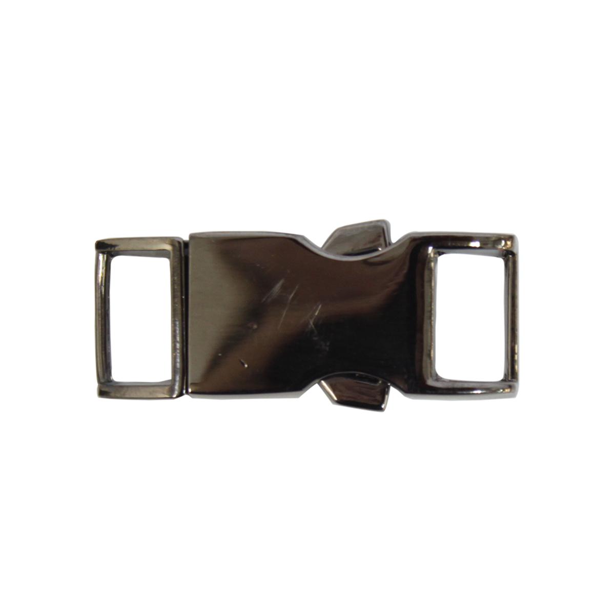 ГНУ14421 (НРЕ1105) Фастекс 10мм ушко, 34*14мм (черный никель)