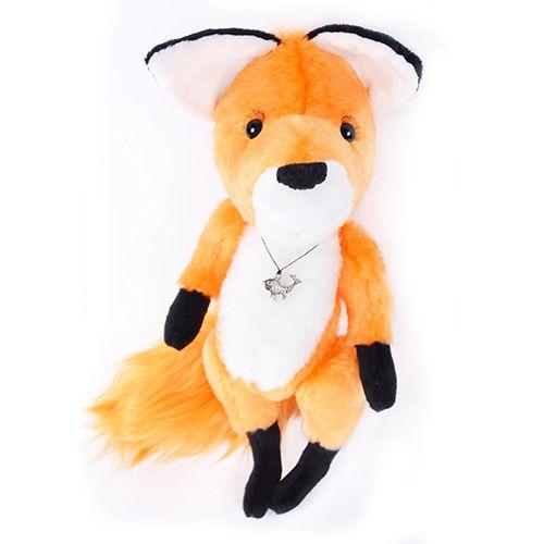 ММ-007 Набор для шитья игрушек 'Рыжая лисичка', 25см