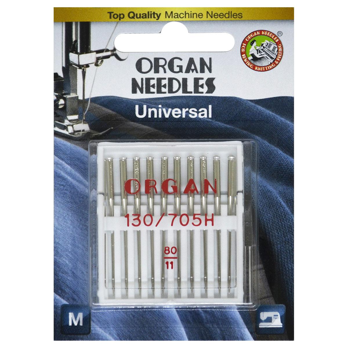 ORGAN иглы универсальные 10/80 Blister